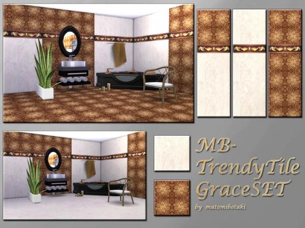 The Sims Resource: Trendy Tile Grace set by matomibotaki