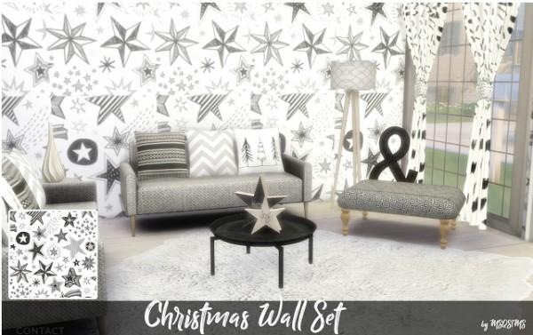 MSQ Sims: Christmas walls