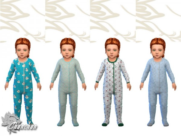 Sims Artists: Christmas sleeping bag pajamas