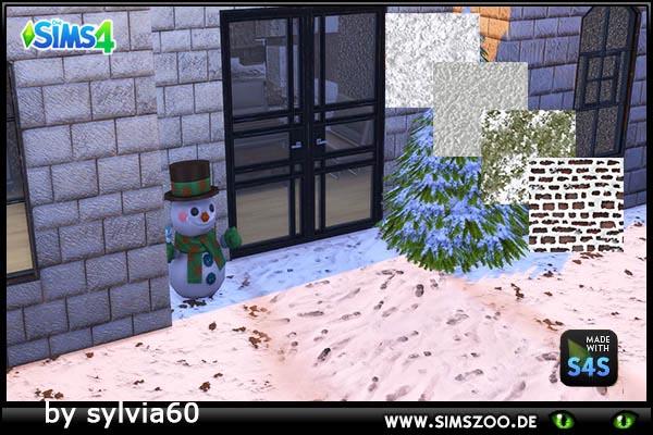 Blackys Sims 4 Zoo: Snowground by sylvia60