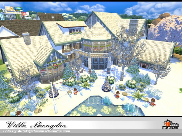 The Sims Resource: Villa Laongdao by Autaki