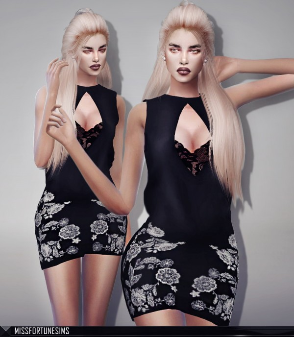 MissFortune Sims: Mara Dress