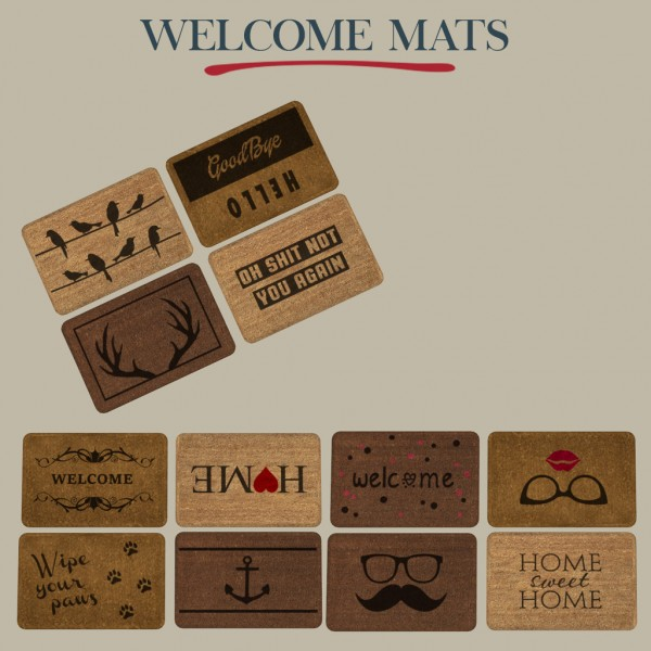Leo 4 Sims: Welcome mats