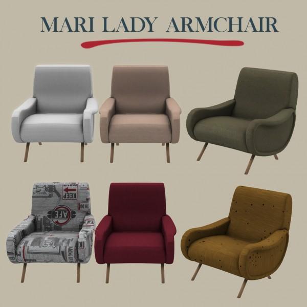 Leo 4 Sims: Lady armchair
