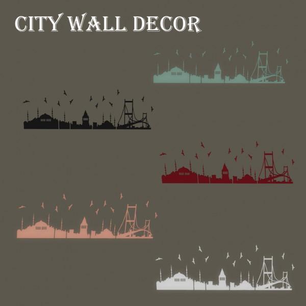 Leo 4 Sims: City Wall Decor
