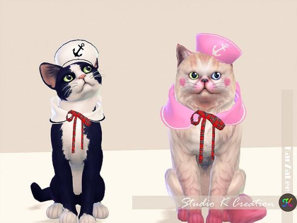 Studio K Creation: Sailor set for cat