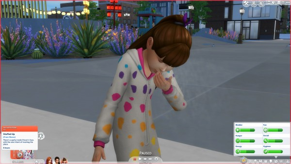 Mod The Sims: No sickness skin overlay by Peterskywalker