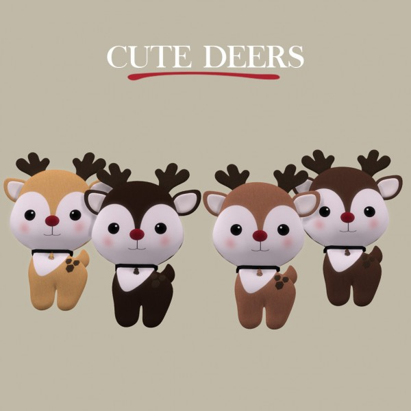 Leo 4 Sims: Cute deers
