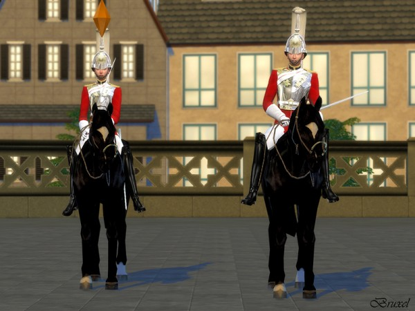 The Sims Resource: Royal Lifeguard Set by Bruxel