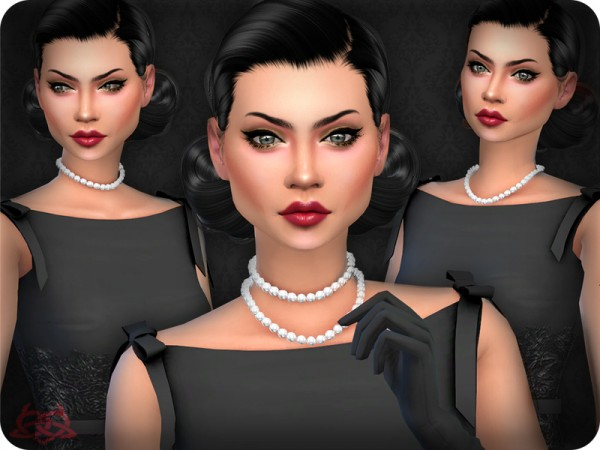 The Sims Resource: Classic Pearls x3 by Colores Urbanos
