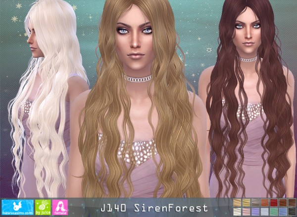 NewSea: J140 Siren Forest donation hairstyle