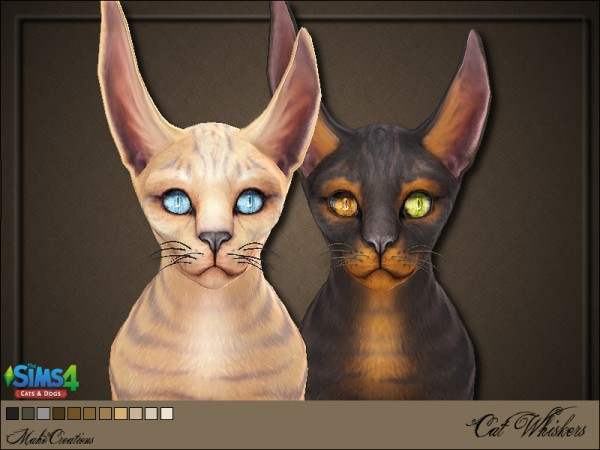 The Sims Resource: Cat Whiskers by MahoCreations