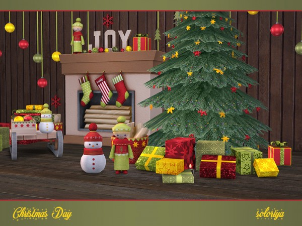 The Sims Resource: Christmas Day by soloriya