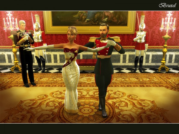 The Sims Resource: Tsar Uniform by Bruxel