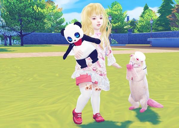 Studio K Creation: Secret Pink Type F top for toddler