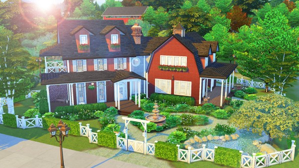 Aveline Sims: Family Farmhouse
