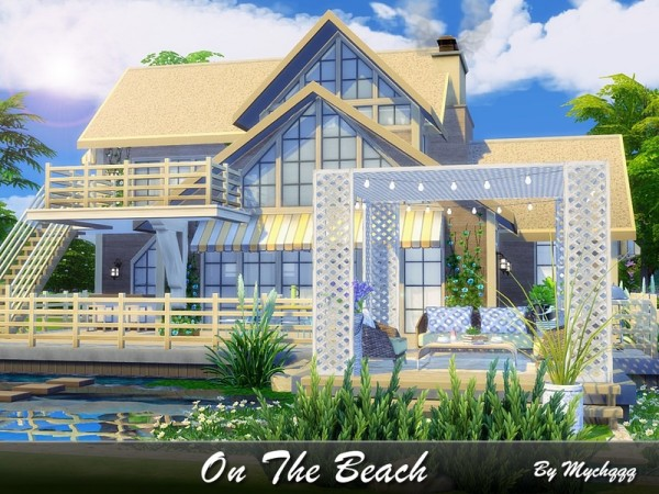 The Sims Resource On The Beach House By Mychqqq Sims 4