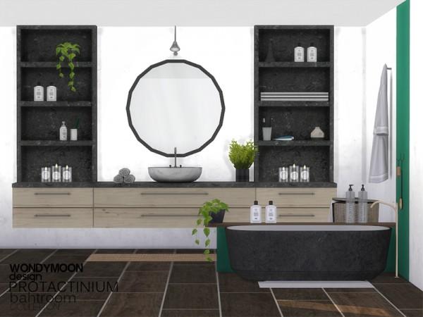 The sims resource protactinium bathroom by wondymoon for Bathroom ideas sims 4