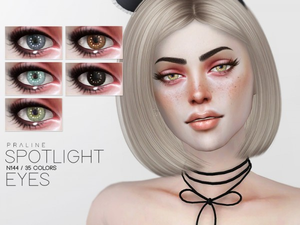 The Sims Resource: Spotlight Eyes N144 by Pralinesims
