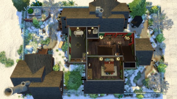Sims Artists: The Santa Claus Museum