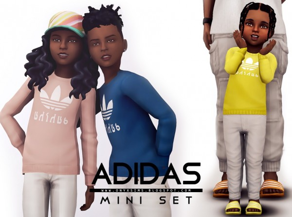 Onyx Sims: Mini Clothing Set