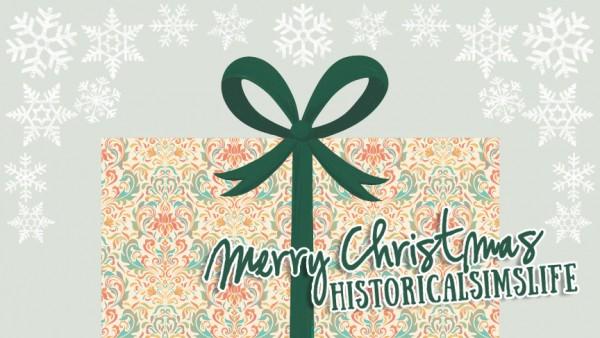 Hamburgercakes: Merry Christmas HistoricalSimsLife!
