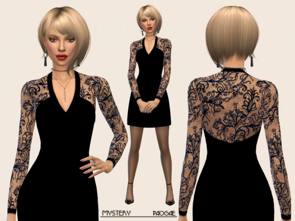The Sims Resource: Mystery dress by Paogae