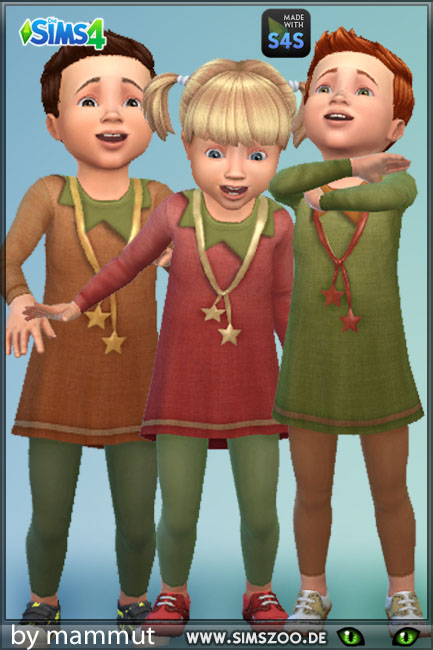 Blackys Sims 4 Zoo: Elf outfit by mammut