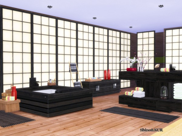 The Sims Resource: Japan Bathroom by ShinoKCR