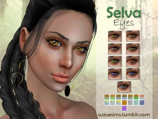 The Sims Resource: Selva Eyes N4 by Suzue