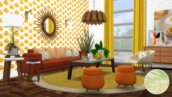 Simsational designs: Mid Century Eclectic Object Set