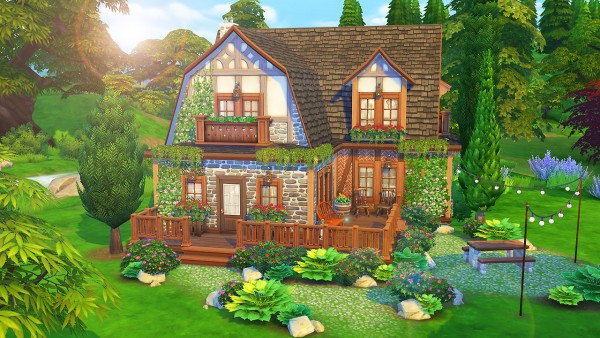 Aveline Sims: Getaway Cottage