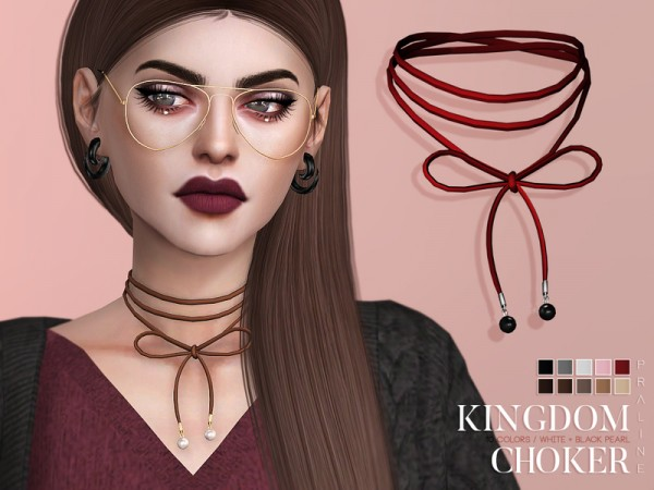 The Sims Resource: Kingdom Choker by Pralinesims