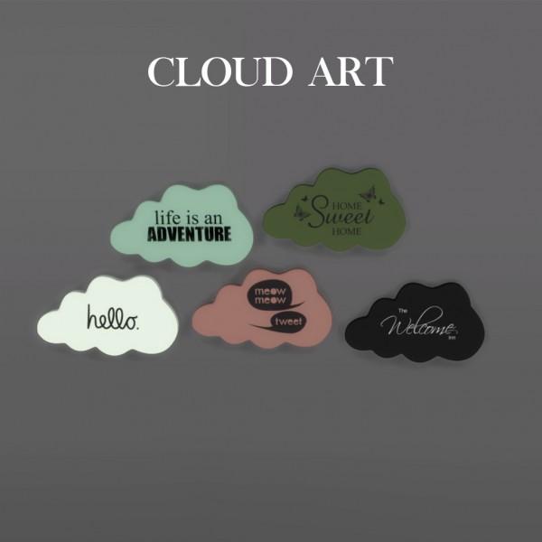 Leo 4 Sims: Cloud Decor