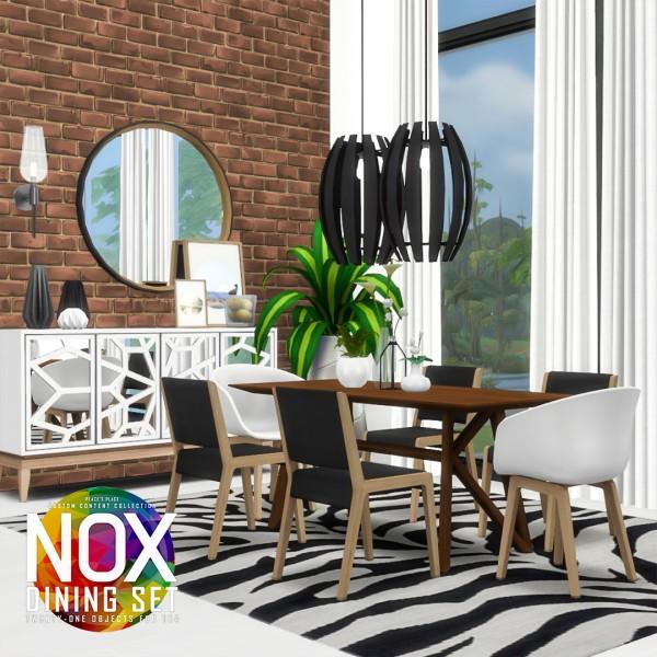 Simsational designs: Nox Dining Set Redux
