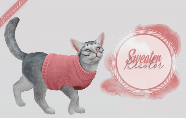 Simiracle: Sweater Recolor   Cats
