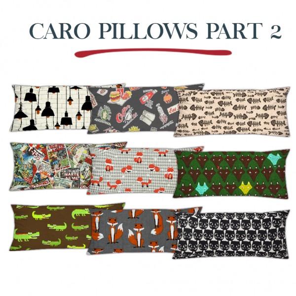 Leo 4 Sims: Caro pillows 2