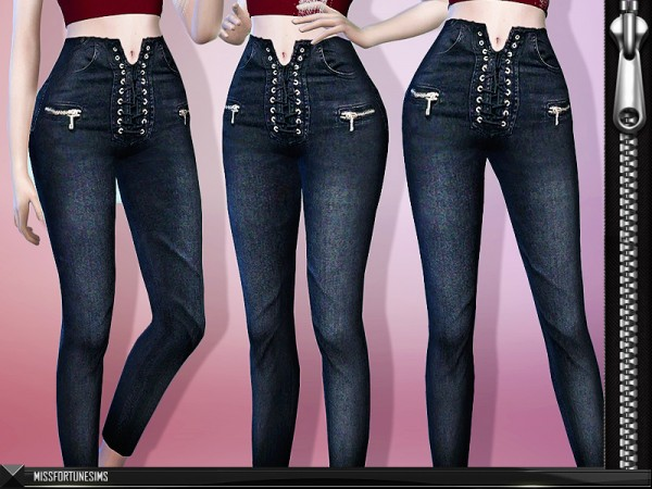 The Sims Resource: Leanna Jeans by MissFortune