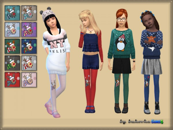 The Sims Resource: Deer Tights by bukovka