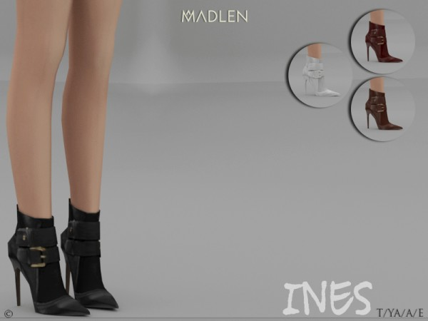 The Sims Resource: Madlen Ines Boots by MJ95