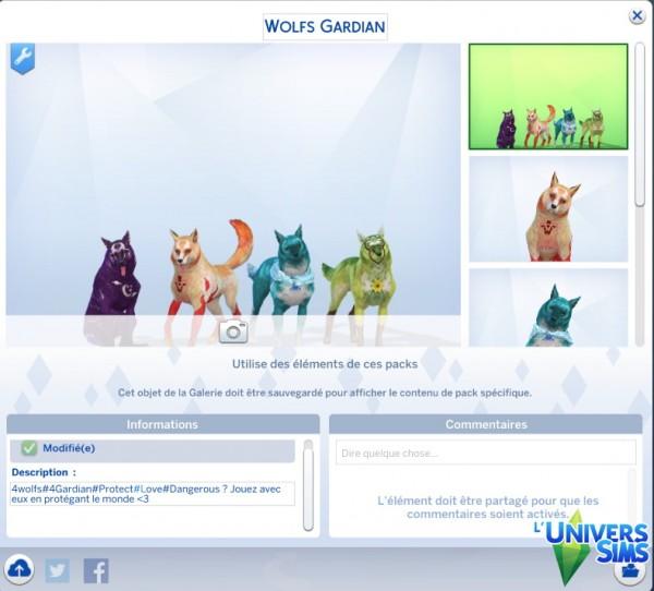 Luniversims: Wolfs Gardian by BlackWolfs646