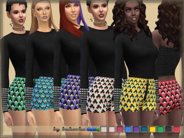 The Sims Resource: Marni Shorts by bukovka