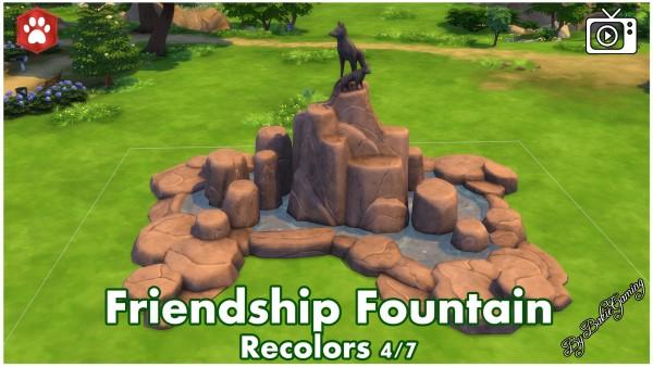 Mod The Sims: Friendship Fountain by Bakie