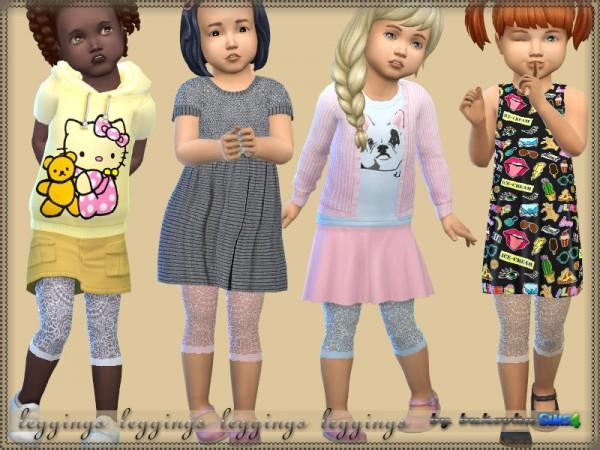 The Sims Resource: Leggings Ballet Dancer by bukovka