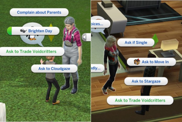 Mod The Sims: Trade Voidcritters update by edespino
