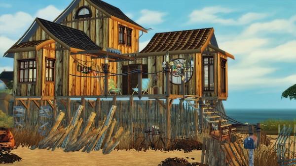 Ideassims4 art: 86 Second Life House   Bahia Tiki