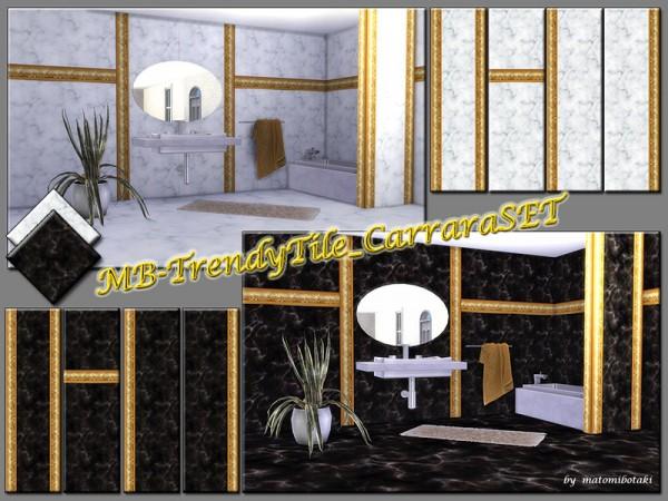 The Sims Resource: Trendy Tile Carrara set by matomibotaki