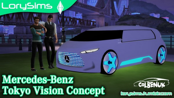 Lory Sims: Mercedes Benz Tokyo Vision Concept