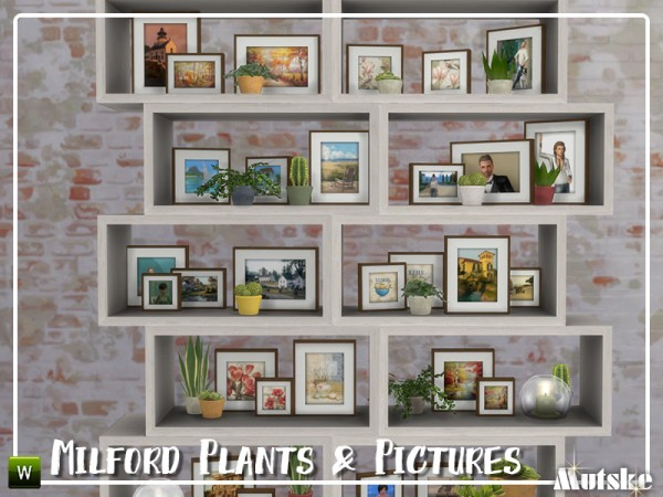 The Sims Resource: Milford Plants and Pictures by mutske