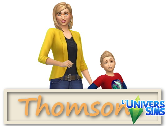 Luniversims: Famille Thomsone by Falco